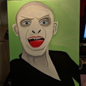 Original art of Voldemort